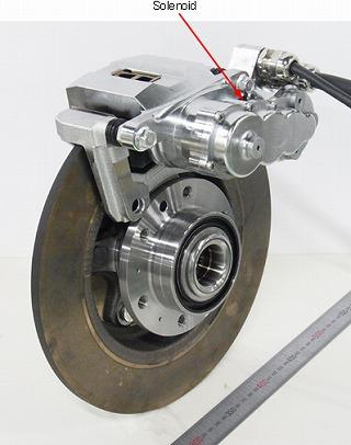 Development Of Electromechanical Brake System With